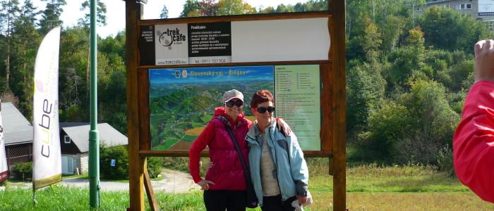 Lucia Lepejová a Eva Bacigalová na relaxačnom pobyte Ligy proti rakovine.